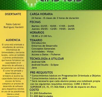 Afiche android 16