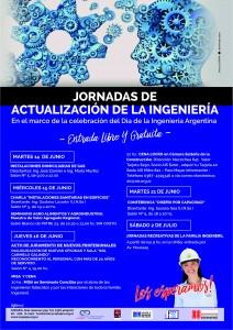 Afiche jornadas ingenieria copaipa 2