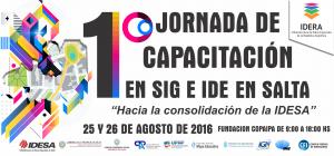 JORNADA DE CAPACITACION DE SIG E IDE SALTA 2016 - 1