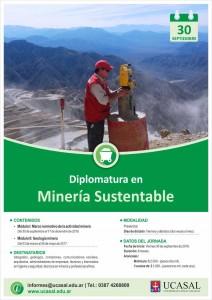 Flyer - A4 - DIPLOMATURA EN MINERÍA SUSTENTABLE