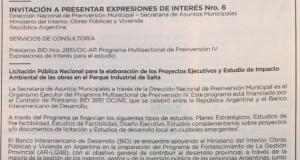 Invitación Expresiones Interés PIS