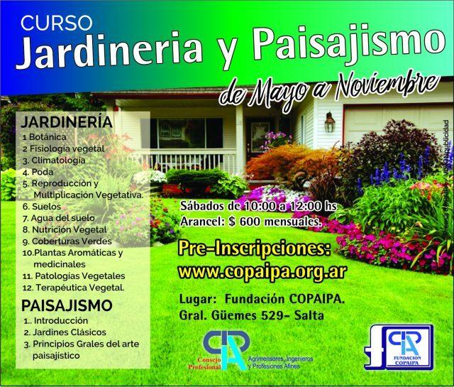 Curso de jardiner a y paisajismo copaipa for Aprender jardineria